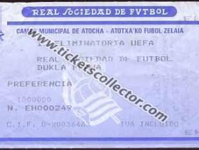 C3 1988-89 Real Sociedad Dukla Praga