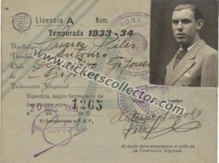 1933 Deportivo Gijonés