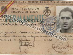 1953 Jugador Internacional RFEF