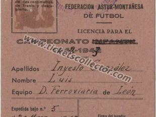 1943 Federación Astur Montañesa