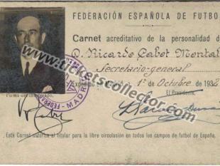 1932 Secretario General RFEF