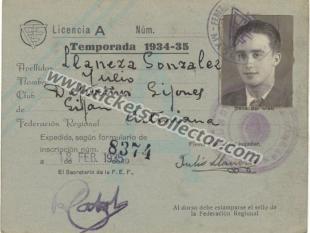 1935 Deportivo Gijonés