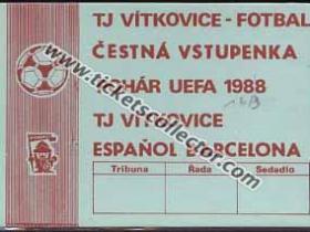 C3 1987-88 Vitkovice Espanyol