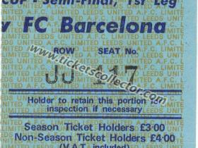 C1 1974-75 Leeds Barcelona