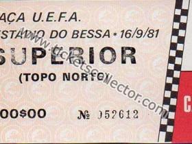 C3 1981-82 Boavista Atlético de Madrid