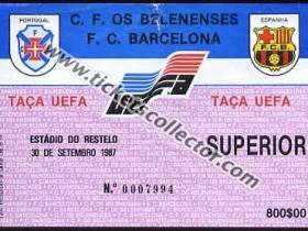 C3 1987-88 Os Belenenses Barcelona