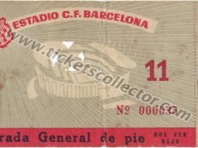 C3 1960-61 Barcelona Zagreb