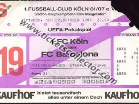 C3 1980-81 Bolonia Barcelona