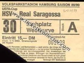 C3 1989-90 HSV Zaragoza