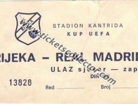 C3 1984-85 Rijeka Real Madrid