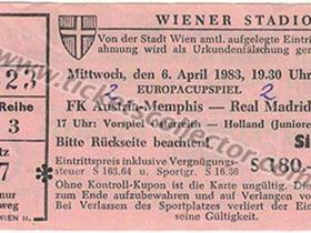 C2 1982-83 Austria Viena Real Madrid