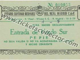 C1 1958-59 Real Madrid Wiener