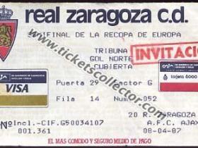 C2 1986-87 Zaragoza Ajax