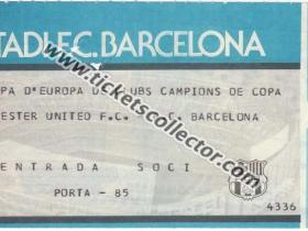 C2 1983-84 Barcelona Manchester United