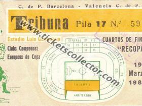C2 1979-80 Valencia Barcelona