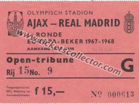 C1 1967-68 Ajax Real Madrid